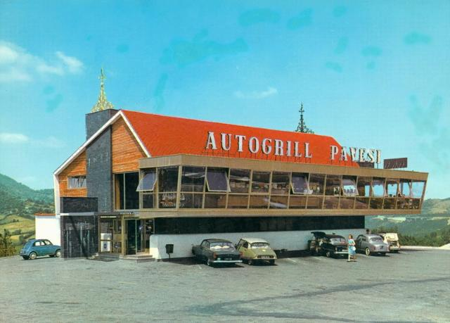 Cult of autogrill - Ahead of time : Roncobilaccio (Bologna - Firenze)
