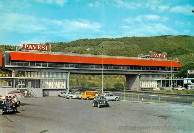 Cult of autogrill - Ahead of time : Serravalle Pistoiese (Firenze-Mare)