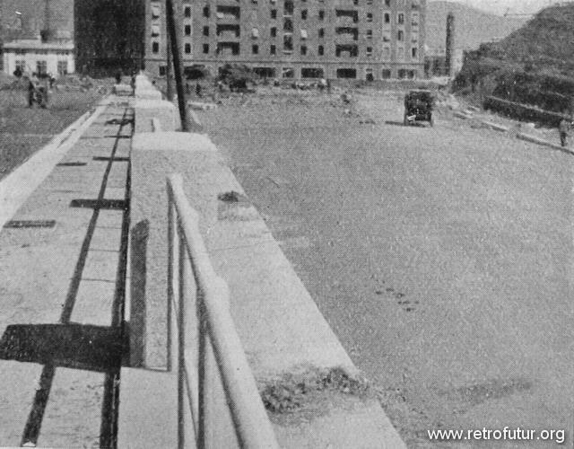 1932 - 1935: Building of mountain Highway Genova - Serravalle  (today A7) : Via Carducci, raccordo tra il Piazzale e il porto