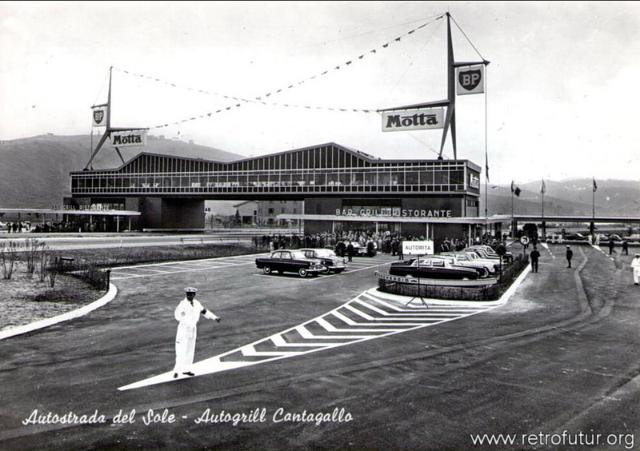 Cult of autogrill - Ahead of time : 1961: Cantagallo (Bologna - Firenze)