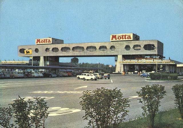 Cult of autogrill - Ahead of time : 1966: Limena (Milano - Venezia)