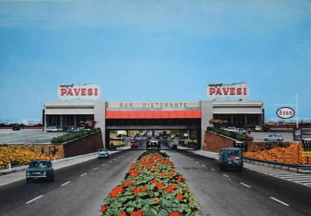 Cult of autogrill - Ahead of time : 1963: Frascati (Roma - Napoli)