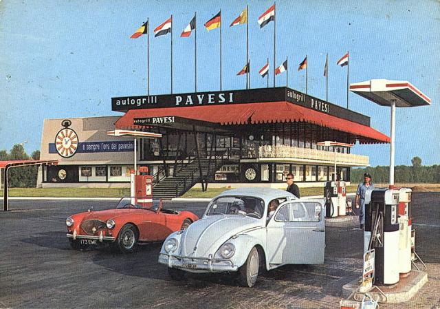 Cult of autogrill - Ahead of time : 1960: San Zanone