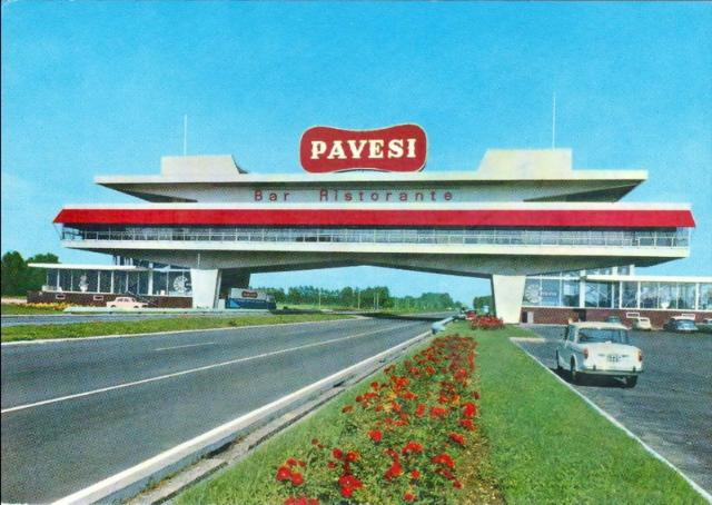 Cult of autogrill - Ahead of time : 1962: Novara (Milano - Torino)
